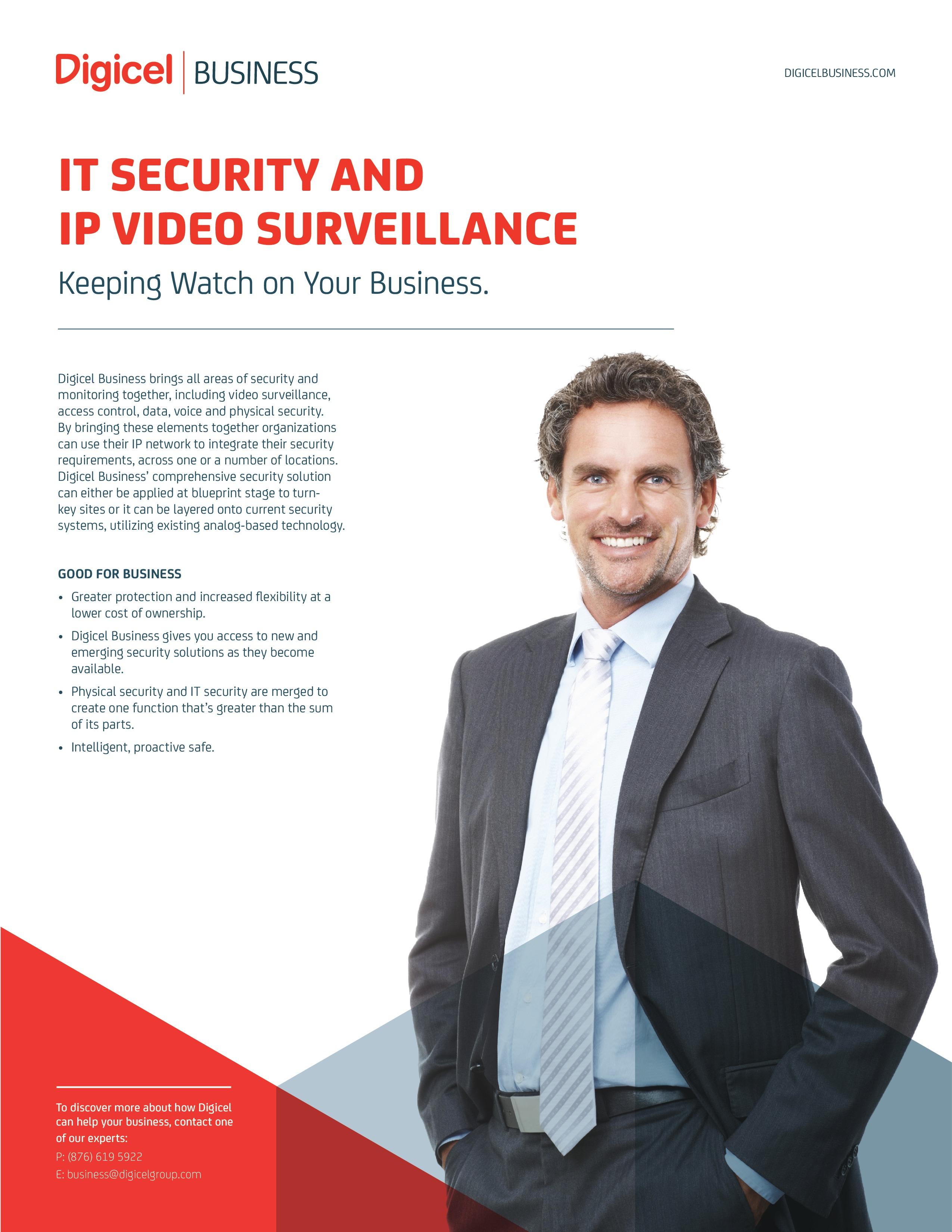 IT Surveillance and IP Video Surveillance