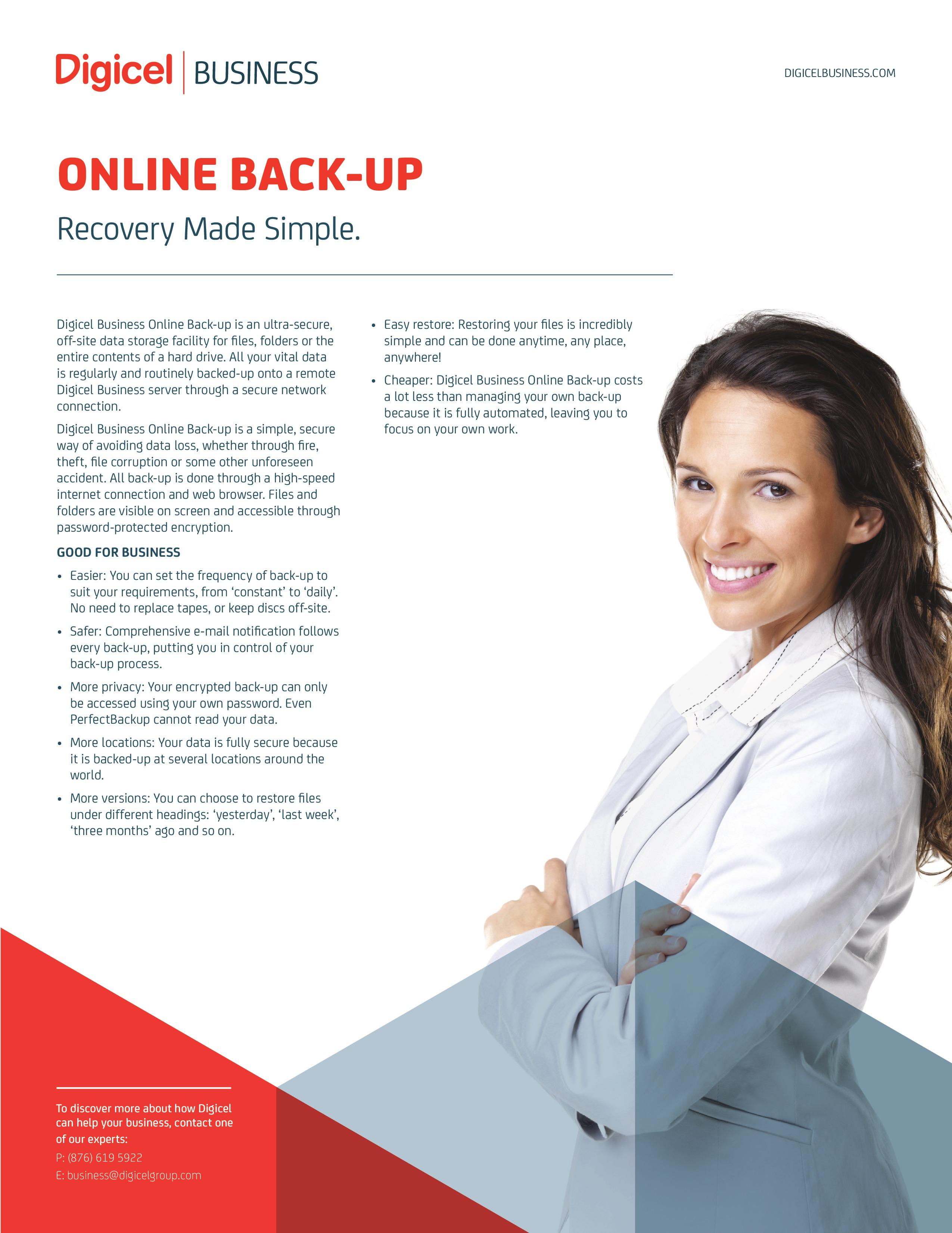 Online Back-up